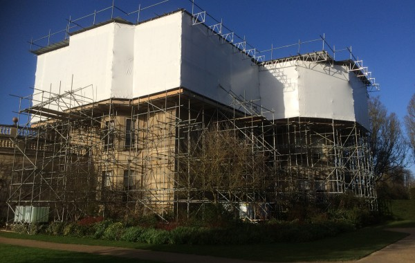 Weather Protection Provided Using VERISAFE Industrial Shrink Wrap Materials