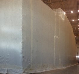 Qatar Yacht Shrink Wrap Encapsulation Solution